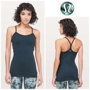 LULULEMON | Nocturnal Teal Power Y Tank Size 10
